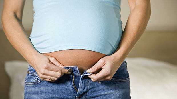 Why-you-look-preggo-on-a-healthy-diet