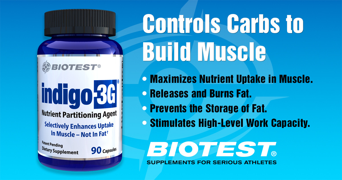 Indigo 3g 174 Controls Carbs To Build Muscle Biotest