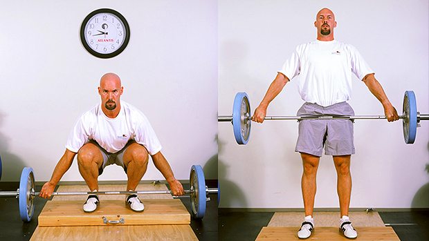 snatch-grip deadlift