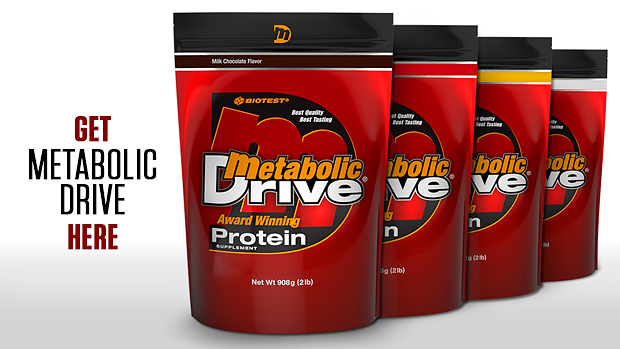 Metabolic Drive Banner