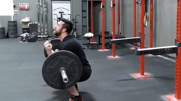 Zercher Squat Holds