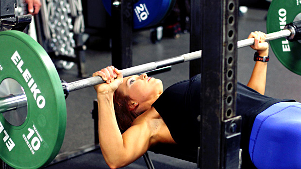 Female Bench Press