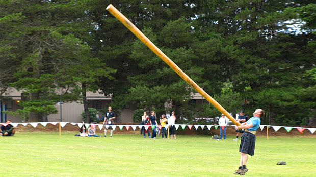 Caber Highland Games